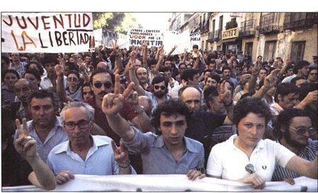 La transición a la democracia (1975 – 1982)